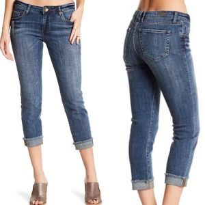 Kut from the Kloth Amy straight leg crop size 8